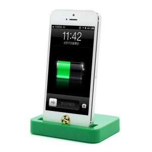 Charging Dock Cradle Charger Docking Station for iPhone 5 - Green