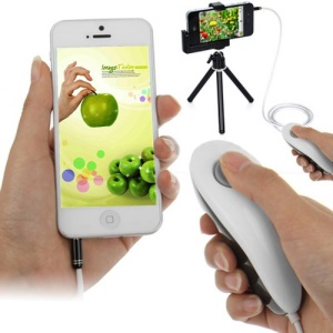 Hot Remote Release Shutter Camera Control Cable for iPhone 5 4S 4 iPad 4 Mini