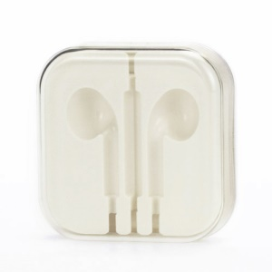 Crystal Packaging Box Case for iPhone 5 Headphones Earphones