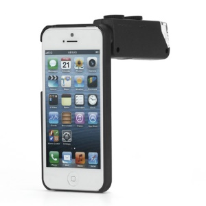 60X-100X Zoom Magnify Microscope for iPhone 5 with Back Cover & Led Light