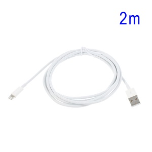 2M Apple Lightning to USB Cable for iPhone 5 / iPod Touch 5 / Nano 7 / iPad Mini