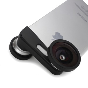 3in1 Fish Eye Lens + 0.4X Wide Angle + Micro Lens Camera Kit for iPhone 5