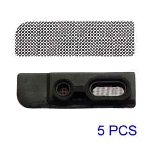 5sets/Lot Earpiece Anti Dust Mesh and Rubber Frame for iPhone 5