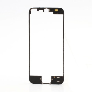 Colored LCD Supporting Frame with 3M Adhesive Sticker for iPhone 5 - Black