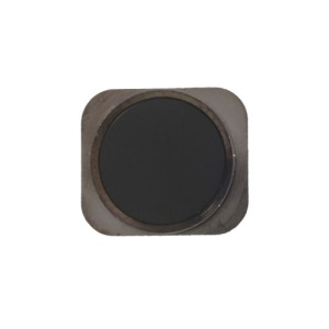 Home Button Key Replacement Part for iPhone 5 - Grey / Black