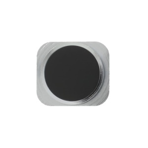 Home Button Key Replacement Part for iPhone 5 - Silver / Black