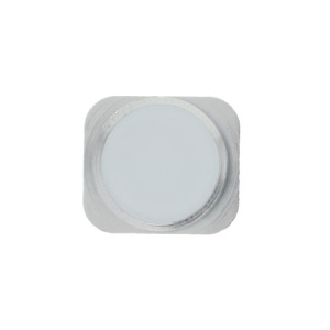 Home Button Key Repair Parts for iPhone 5 - Silver / White