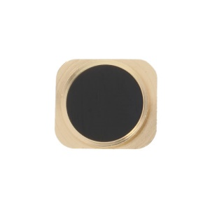 For iPhone 5 Home Button Key Replacement Parts - Gold / Black
