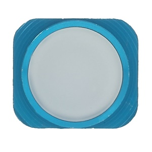 Home Button Key Spare Parts for iPhone 5 - Blue / White