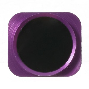 Home Key Button Repair Parts for iPhone 5 - Purple / Black