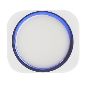 For iPhone 5 Home Button Replacement - Blue / White
