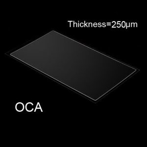 OCA Optical Clear Adhesive Double-side Sticker for iPhone 5 LCD Digitizer, Thickness: 0.25mm