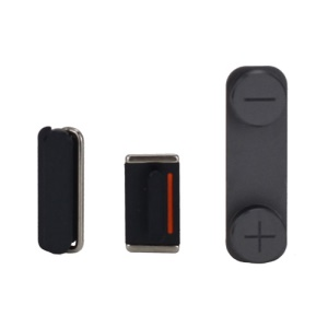 3 in 1 Side Buttons Set for iPhone 5 (Power + Volume + Mute Switch) - Black