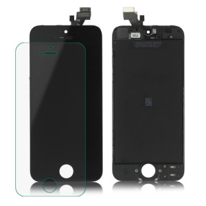 For iPhone 5 LCD Assembly with Touch Screen and Digitizer Frame - Black (OEM)