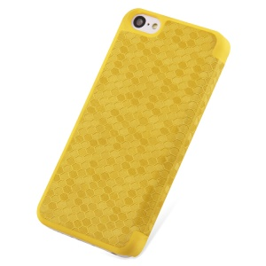 Takefans Brilliant Series Leather Flip Case for iPhone 5c - Yellow