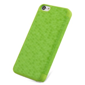 Takefans Brilliant Series Leather Flip Cover for iPhone 5c - Green