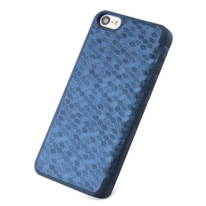 Takefans Brilliant Series Flip Leather Protective Cover for iPhone 5c - Blue