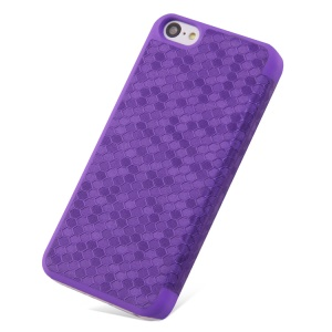 Takefans Brilliant Series Flip Leather Protective Case for iPhone 5c - Purple