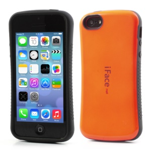 Orange iFace for iPhone 5C PC & TPU Dual Layer Hybrid Shell