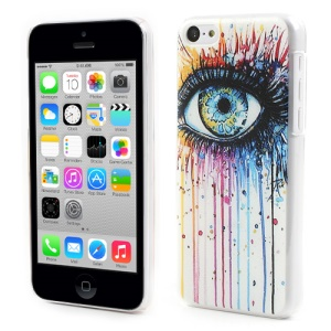 Artistic Eye Image Embossing Hard Cover for iPhone 5c