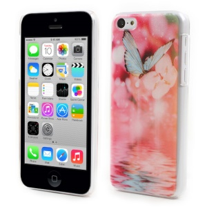 Pretty Butterfly for iPhone 5c Embossed PC Hard Case Accessory
