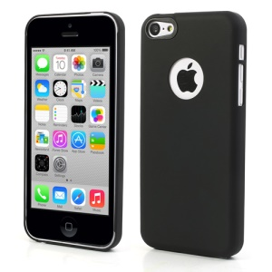 Ultra Thin Air Jacket Rubberized Hard Case for iPhone 5c - Black