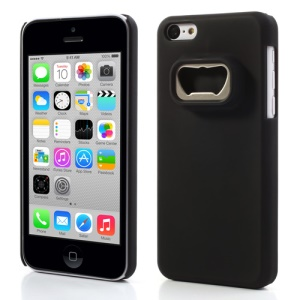Bottle Opener Hard Back Cases for iPhone 5c - Black