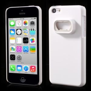 Bottle Opener Hard Back Case for iPhone 5c - White