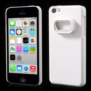 Bottle Opener Hard Back Case for iPhone 5c - White