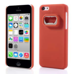 Bottle Opener Hard Back Cases for iPhone 5c - Red