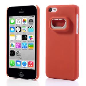 Bottle Opener Hard Back Cases for iPhone 5c - Red
