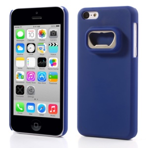 Bottle Opener Hard Plastic Cover for iPhone 5c - Dark Blue
