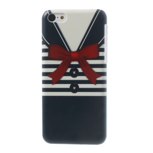 Blue Stripe Shirt Slim Hard Cover for iPhone 5c