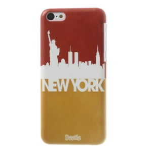 New York Impression for iPhone 5c Hard Protective Cover