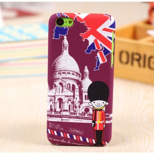 UMKU British Royal Guard Soldier & St Pauls Cathedral Hard Shell for iPhone 5c