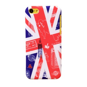 UMKU Union Jack & Britain Attractions Hard Shell for iPhone 5c