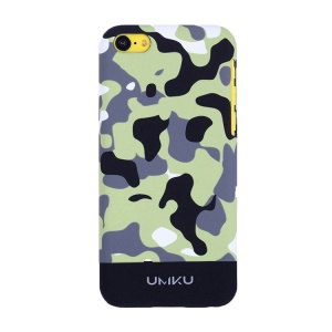 Black UMKU Camouflage Design Protective Slim Hard Case for iPhone 5c