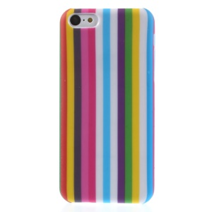 Colorful Vertical Stripes Pattern PC Hard Shell for iPhone 5c