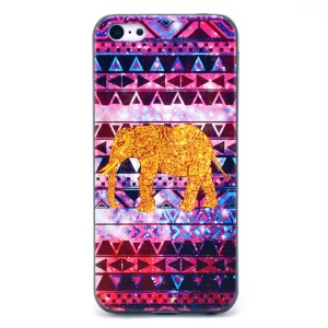 Tribal Triangles & Elephant Hard Plastic Shell for iPhone 5c