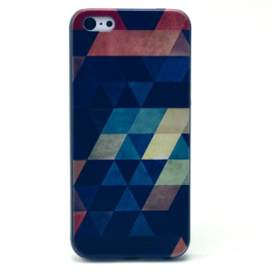 Colorful Triangles Pattern Hard Plastic Shell for iPhone 5c