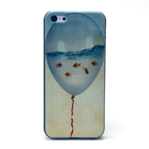 Balloon Pattern Hard Plastic Shell Case for iPhone 5c