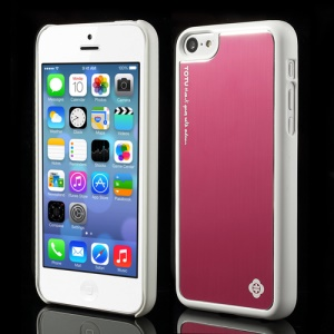 Rose TOTU Color Aluminium Hard Case for iPhone 5C