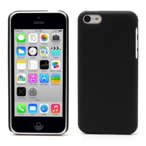 Black for iPhone 5c Rubberized Matte Hard Case