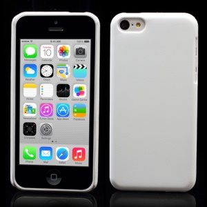 White for iPhone 5c Rubberized Hard Cover