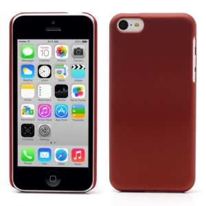 Red for iPhone 5c Rubberized Hard Cover