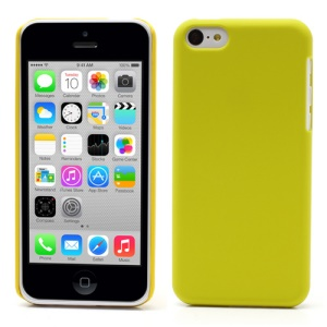 Yellow for iPhone 5c Rubberized Slim Hard Case