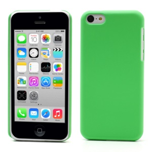 Green for iPhone 5c Rubber Coating Slim Hard Case