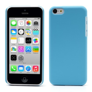 Baby Blue for iPhone 5c Rubber Coating Slim Hard Case