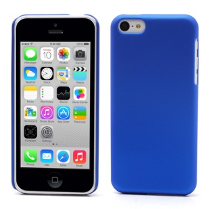 Dark Blue for iPhone 5c Rubber Coating Hard Back Cover