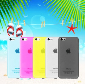 USAMS Super Slim Plastic Hard Shell Cover for iPhone 5C